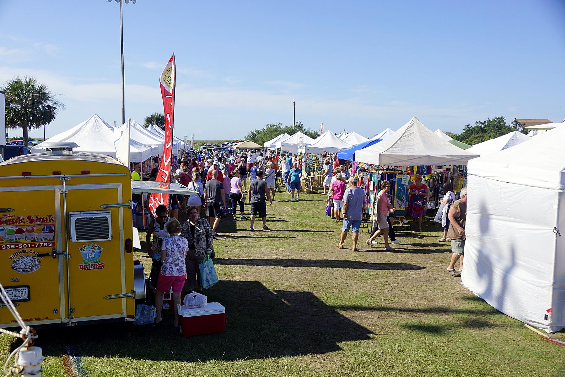 Oak island art guild for Arts and crafts festival